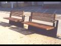 Městský mobiliář Zlínský kraj-lavičky, stojany na kola, květináče