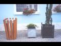 Venkovní květináče - betonové, kovové, dřevěné