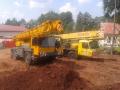 Jeřábnické práce pomohou na stavbě i při vyprošťováni auta - Semily