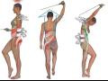 Rehabilita�n� cvi�en� SM syst�m pomoc� lana pom�e odstranit bolesti zad