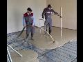 Realizace lité anhydritové a cementové podlahy, litý beton Břeclav