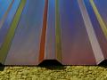 Hnědé trapézové plechy v hnědé barvě a různých délkách k prodeji za příznivé ceny