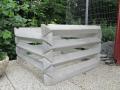 Betonové, komunitní kompostéry Frýdek-Místek