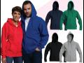 Zakázková výroba reklamních triček, mikin, bund a dalšího textilu