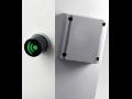 Elektronick� z�mek - m�sto kl��e karta nebo p��ve�ek