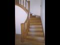 Výroba a montáž, dřevěné schodiště na zakázku   Moravský Krumlov, Znojmo