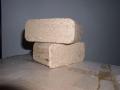 Palivové dřevo, dřevěné dubové brikety - bez obsahu přídavných látek