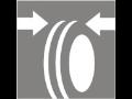 Měření, kontrola geometrie kol, nápravy nákladního auta, automobilu