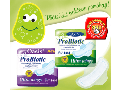 Unikátní kombinace dámské hygienické vložky a probiotik