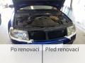 Renovace zašlých autosvětel, rozleštění, nanesení ochranného laku - komplexní služby