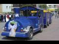 Svatební jízda vláčkem, pronájem vláčku, autovláčku Zlín, Olomouc