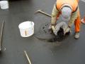 Zálivkové hmoty z asfaltu, za horka aplikovaná plasticko - elastická asfaltová zálivková hmota