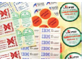 Self-adhesive labels expres Prague 9 the Czech Republic