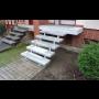 Obklady schodů, pokládka vnitřní, venkovní dlažby Olomouc, Přerov