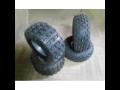 sada pneu na čtyřkolku 2x přední 2x zadní