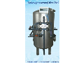 Tlakový nerezový filtr, filtrační vložky, filtrace pitné a užitkové vody