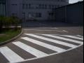 Dopravní značení cest, parkovišť, skladů nebo hřišť