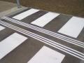 Přechod pro chodce - vodorovné dopravní značení