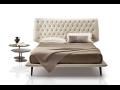 Luxusní postele Natuzzi prodej Praha -  estetický vzhled a jedinečný pocit komfortu