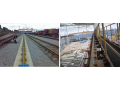 Crane, railway, tram, mine rails - delivery, assembly, installation, the Czech Republic