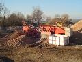 Recyklace stavební suti, drcení, třídění suti Olomouc