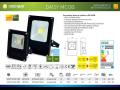 LED trubice SMD a levný LED reflektor MCOB s čidlem pohybu