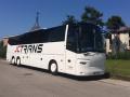 Luxusní vnitrostátní i mezinárodní autobusová doprava pro jednoduchou přepravu