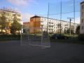 Hliníkové fotbalové branky - dodávky včetně sítí