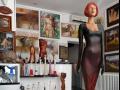Prezentace výtvarných děl v interiéru i exteriéru-galerie Zlín