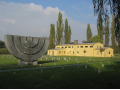 židovský hřbitov s přilehlým krematoriem