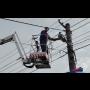 Komplet elektromontážní práce - výškové elektropráce na montážní plošině