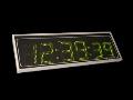 Digitálne hodiny do interiéru s veľkými číslami - 75, 85 mm