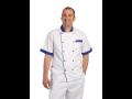 Kuchařský kabátek s krátkým rukávem