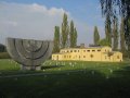 Terezín concentration camp and its horrors are commemorated by a memorial, the Czech Republic
