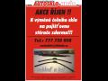 Podzimní akce v Autosklo Vyškov-u výměny  čelního skla zdarma stěrače