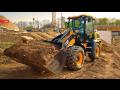 Stavební materiál až na místo vaší stavby - prodej a dovoz štěrku, písku, betonu