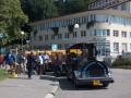 Výletní, turistický vlak, autovláček-vyhlídková jízda Luhačovice, Hodonín
