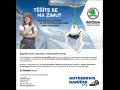 Zimní servisní akce v autoservisu Škoda-kvalitní servis vozu je základ bezpečné jízdy