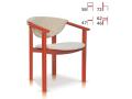 Jídelní židle Strakoš