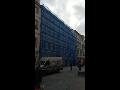 Zastřešení staveb Praha pomocí lehkého hliníkového lešení