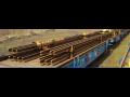 Oprava kolej� Teplice - sva�ov�n�, regenerace a p�eprava kolejnic