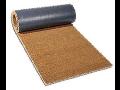 Kokosové rohože v rolích s podkladem z PVC, pro přesné přířezy