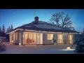Luxusní, designové domy, bungalovy, projekty domů, rekuperace-Zlín