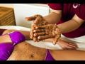 Matolinový tělový peeling z rodrcených hroznových jader