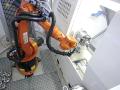 Robotizované pracovisko, automatický sústružnícky program
