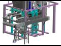 Dodávky parních a horkovodních kotlů, topeniště s prvky fluidní techniky, rekonstrukce