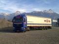 Mezinárodní silniční doprava plachtovými návěsy po celé Evropě