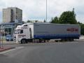 Silniční doprav plachtovými návěsy v Evropě