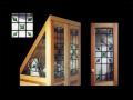 Vitráže umělecké dekorativní zasklení skleněné vitráže.