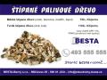 Štípané měkké palivové dřevo - smrk, borovice, modřín topol